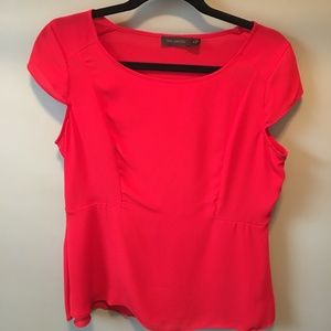 Limited peplum top, size small